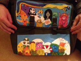 Adventure time bag by me-and-jd