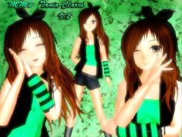 MMD- Tania Clares Version 2 by TaniaVocaloid