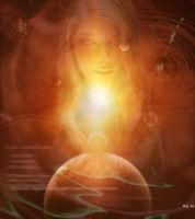 Cosmic Mother by Hera-of-Stockholm