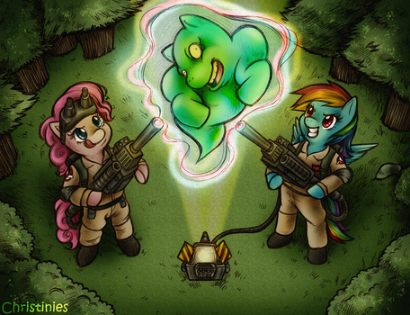 They ain't afraid of no ghost by Christinies