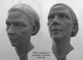portrait sculpture by gennady
