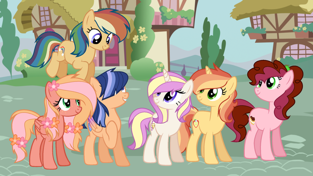 Mlp Next Gen for Gala rose friend by 6FigersLoverEver