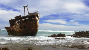 Shipwrecked in Africa by Aartappel