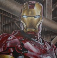 Iron Man Movie Painting by JonMckenzie