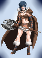 Idris The Barbarian by LadyDreamMaker