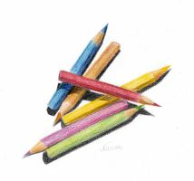 Crayons by Rifty