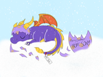 Sony's gift for Spyro fans by Caramel-lioness