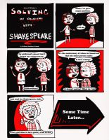 Page 1 - Fixing Your Life With Shakespeare #130 by AdamZ5k