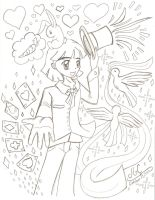 Magician Celemis - :C: WIP by HirokoTheHedgehog