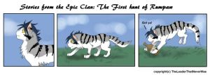 The First Hunt of Rumpaw by RavenGuardian13