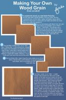 Make Your Own Wood Grain by fritchie