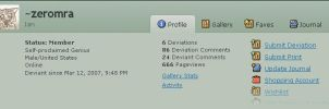 666 pageviews XD by zeromra