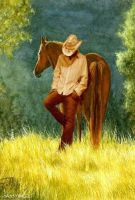 LONESOME Cowboy by sassyangel
