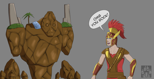 SMITE - Best pun ever by Tsukihowl