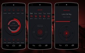 Inspired Red Theme For Android Themer by homebridge