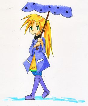 Raincoat Yellow by NanamiSonezaki