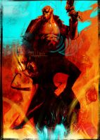Hellboy 4 by uwedewitt