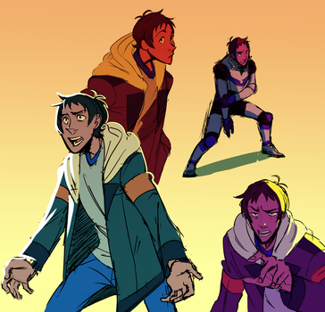Lance Doodles by PastelWing