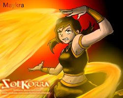The Korra and Mako's Daughter : Maikra by SolKorra by SolKorra
