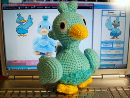 Ducklett Crochet Plush by First-Mate-Kate