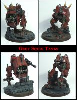 Grot Squig Tanks by Proiteus