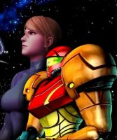 Samus The Space Guardian by SuperMetroid2