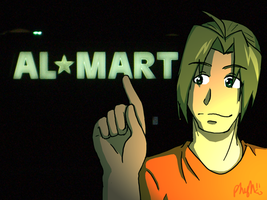 Late night at the Al-Mart by GoldphishCrackers