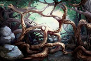 Curved trees by vapgames