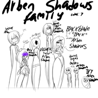 Arben Shadows Fam by oONekoMamaOo