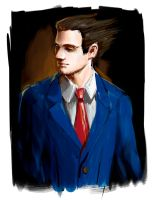 Phoenix Wright WIP 2 by Raria