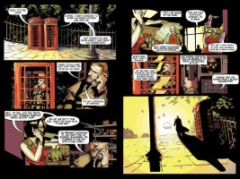 Hellblazer Pages by woogieboi