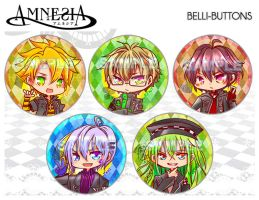 Amnesia button set by jinyjin