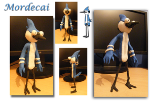 The Regular Show - Plasticine Mordecai Model by Tommassey250