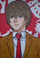 Light Yagami ACEO by LadyNin-Chan