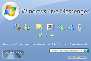 All WLive Messenger Icons by deskmundo