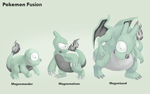 Adopt - PokeFusion Magnet-Char by elen89