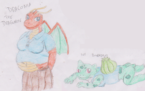 Draconia and Ivy by WhippetWild