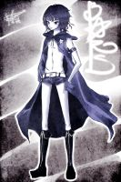 Black Rock Shooter -male ver- by kiddou