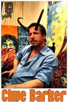 Clive Barker Wearing His Horns by che4u