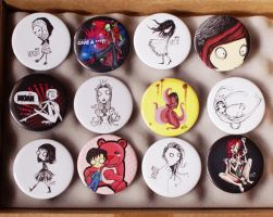 My Buttons by madebyloop