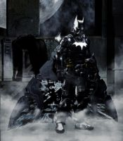 Sci-Fi Batman by Vadlor