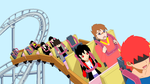 My cousin Dean hates roller coasters by TimeyStuff