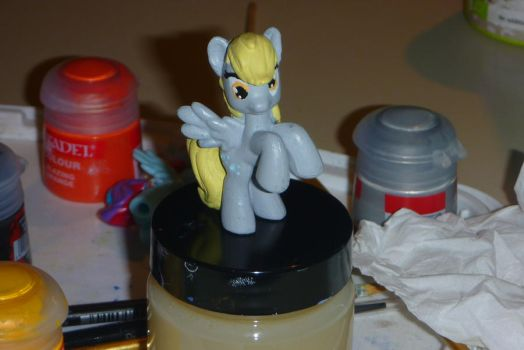 MLP blind bag derpy custom by zingy180