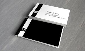 Business card Kamil Brabec by Lifety