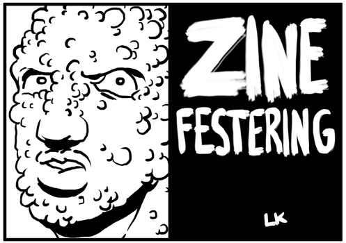 Zine Festering - Cover by EarthmanPrime