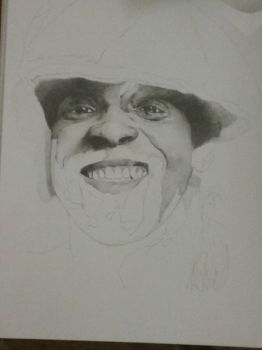 Chris Amoo WIP by silentsketcher97
