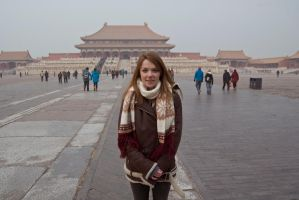 Me at the Forbidden City by lilmoz