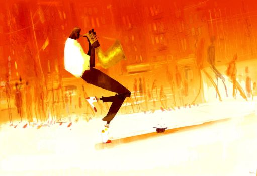 The Performer. by PascalCampion