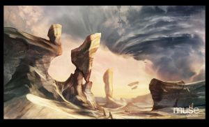 An Arid Landscape by musegames