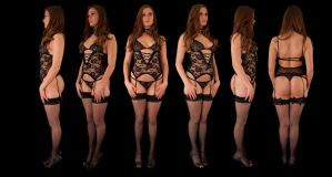 Honour May Orthographic Lingerie by LexLucas